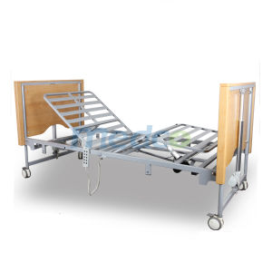 Ce&ISO Movable Five Functions Mobile Electric Home Care Bed for Elder pictures & photos