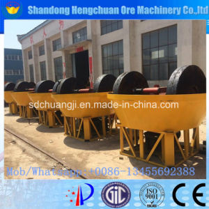 China Factory Directly Sale Wet Pan Mill for Gold pictures & photos