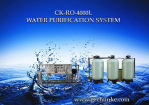 Ce Certified 4000L/H Solar Seawater Desalination Plant pictures & photos