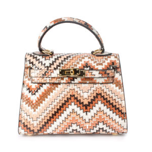 Lady Bag Qulited Leather Handbags Women′s Bag pictures & photos
