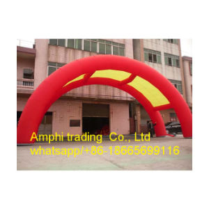 Round Shape Inflatable Archway, White Inflatable Arch for Advertising