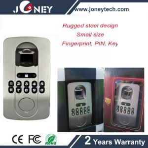 Rugged Steel Construction Small Size Fingerprint Door Lock pictures & photos