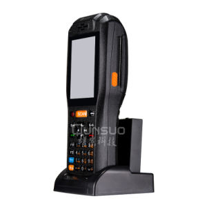 3G Wireless Industrial PDA Android Rugged with Thermal Printer