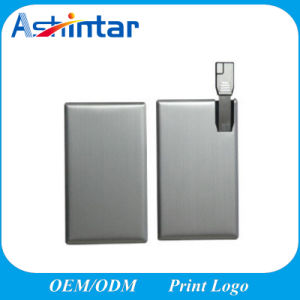 Metal Card USB Flash Memory Mini Waterproof USB Drive pictures & photos