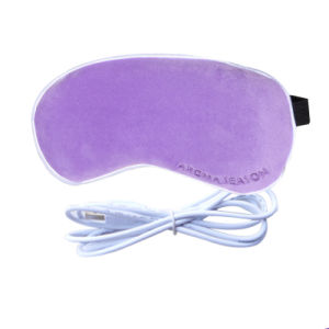 USB Heated Leopard Print Plug in Lavender Eye Pillow pictures & photos