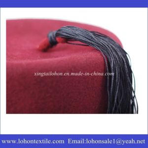 with Tassel Made by Woolen Material New Pattern Fez Hat in 2017 pictures & photos