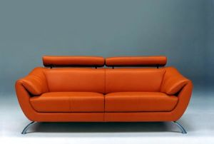 Italy Fashion Leather Sofa Set (1+2+3) pictures & photos