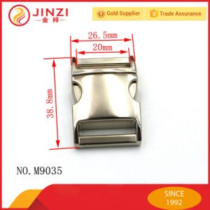 Good Quality Metal Adjustable Push Lock for Bags/Belt pictures & photos