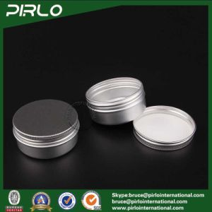 50g Aluminum Cosmetic Jar with Lid for Cosmetic Cream Hand Cream Lip Balm Hair Wax Collection Use pictures & photos