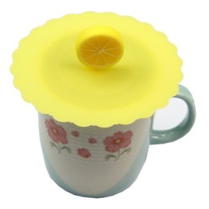 Silicone Coffee Mug Lid Cover pictures & photos