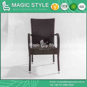 Hotel Projet Stackable Garden Dining Chair Bitro Chair Rattan Dining Chair Wicker Weaving Chair Cafe Chair Coffee Chair pictures & photos
