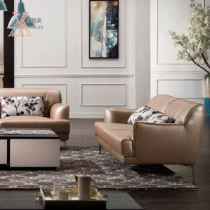 Leath Aire Leather Sofa with Armrest (1625A) pictures & photos