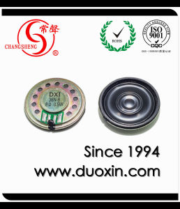 36mm 0.5W Mini Mylar Speaker with RoHS Dxi36n-B pictures & photos