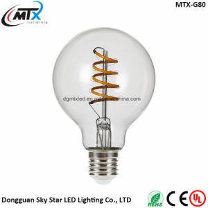 110V 220V 4W G80 E26 E27 LED Soft Filament Lighting pictures & photos