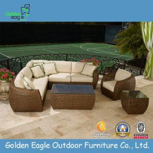 Outdoor Rattan Hand Weaving Sectional Sofa Set pictures & photos