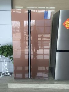 Bcd-612W Side by Side Refrigerator with LED Light pictures & photos