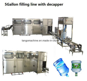 5gallon Barrel Drinkg Water Production Line for 200bph 300bph 450bph 600bph 900bph 1200bph 1500bph pictures & photos