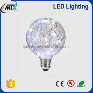 MTX G95/125 string wire colorful LED diode lighting bulb firework decorative 1.5W pictures & photos