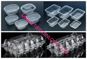 Automatic Plastic Egg Tray Online Vacuum Machine pictures & photos