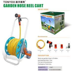 Two Wheel Garden Hose Reel Cart (GT1001) , Manufacturer pictures & photos