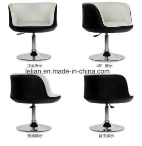 Commercial Leather Lounge Swivel Sofa, Bar Chair (LL-BC067) pictures & photos