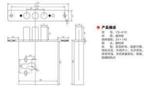Zinc Alloy Material Door Lockbody (YS-A16) pictures & photos