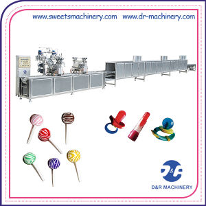 Food Machine Deposited Lollipop Production Line Lollipop Making Machine pictures & photos