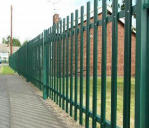 High-Security Steel Palisade Fence, Palisade Fencing pictures & photos