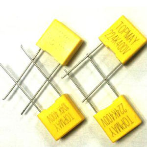 Box Type Metallized Polyester Film Capacitor pictures & photos
