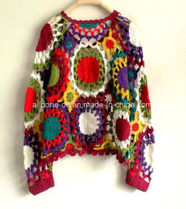 Custom Fashion Vintage Hand Crochet Sweater Halter Cardigan Top Dress pictures & photos