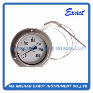 Mechanical Temperature Gauge-Capillary Thermometer-All Ss Type Thermometer pictures & photos