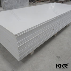 KKR Pure White Acrylic Solid Surface pictures & photos