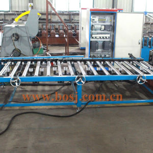 Factory Slotted Stainless Steel Cable Tray Flange Roll Forming Machine pictures & photos