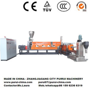 High Performance Plastic Recycling Pelletizing System for Crushed Flakes/Regrinds pictures & photos