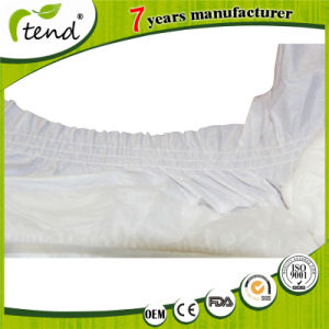 3D Leak Guard with No Side Leakage Soft Cotton Single Use Adult Diapers pictures & photos
