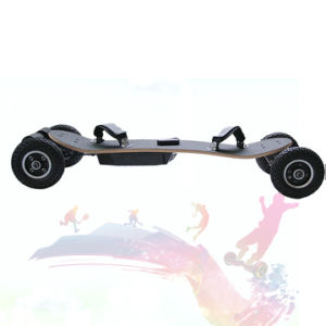 Top Rated 1650W*2 Four Wheels Electric Skateboard pictures & photos