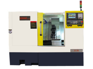 Large Spindle Bore Automatic Lathe, CNC Lathe Machine E35/E45 pictures & photos