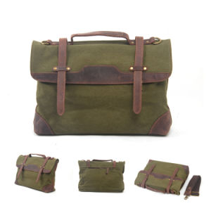 2017 Newest Design Washed Canvas Computer Man Handbag (RS-1935) pictures & photos