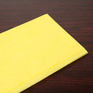 Disposable Non Woven Yellow Dusting Wiper (YYM-001) pictures & photos