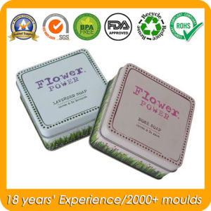 Square Soap Tin Box for Metal Gift Packaging Boxes pictures & photos