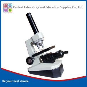400X Lab Equipment Portable Biological Monocular Microscope for Student Microscope pictures & photos