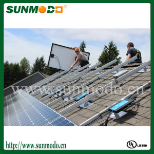 Alumium Rack Roof Solar Mounting System for Solar Moudle pictures & photos