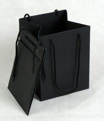 Packing Handle Fashion Shopping Paper Bag (HR-PB003) pictures & photos