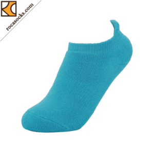2017 Spring Fashionable Women′s Hidden Coolmax Cotton Blend Socks (162042SK) pictures & photos