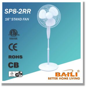 """Hot Sale 16"""" Oscillating Stand Fan with Round Base pictures & photos"""