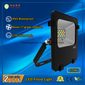 Ce RoHS Approved 10W IP65 Waterproof Outdoor LED Floodlight with Philips LEDs pictures & photos