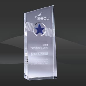 Blue Nebula Crystal Star Award (JC-1579BLU, JC-1580BLU) pictures & photos