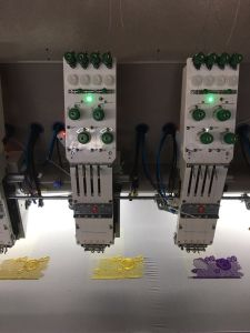 30 Head 4 Colors Flat Embroidery Machine