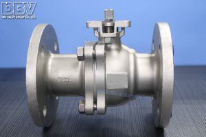 Valve Flanged Floating Ball Valve pictures & photos