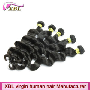 Wholesale High Quality Xbl Unprocessed Virgin Peruvian Hair pictures & photos